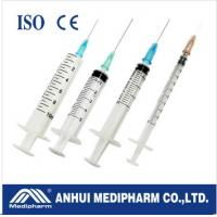 China Syringes +Needle for injection on sale