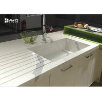 Wholesale Calacatta Pattern White Quartz Countertops That Look Like Marble For Kitchen from china suppliers