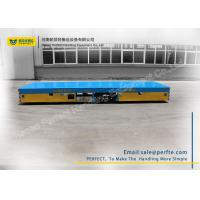 Quality Trackless Transfer Bogie Electric Trailer Trolley Low Noise Easy Operation for sale