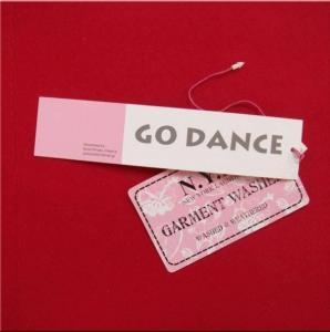 China Printed Clothing Tag /Garment Tag on sale