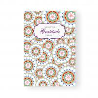 China Cultivate Attitude Gratitude Journal Book , Floral Pattern Custom Made Notebooks on sale