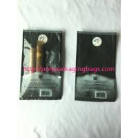 Wholesale custom made printed plastic cigar packaging bag / cigar humidor bag with slid zip lock from china suppliers