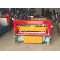 China 380V Metal Roof Forming Machine Build - In Energy Saving Frequency Converter on sale