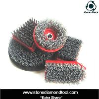 Wholesale Different Shapes Silicon Carbide Grinding Brush from china suppliers