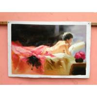 Wholesale Handpainted Paintings On Canvas Fine Art Oil Painting Abstract Style from china suppliers