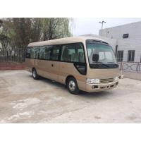 Quality 2160 mm Width Coaster Minibus 24 Seater City Sightseeing Bus Commercial Vehicles for sale