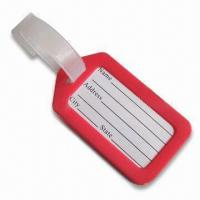 Wholesale Luggage Tag, Available in Red, Suitable for Decoration Purposes from china suppliers