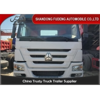Wholesale Manual 371HP 6X4 Wheel Drive Used Tractor Head Trucks from china suppliers