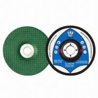 China Flexible Green Grinding Wheels, Used for Stainless Steels, with High Security and Performance on sale