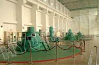 China Kaplan Water Turbine/Kaplan Hydrotu Turbine with Synchronous Generator low water head hydropower project on sale