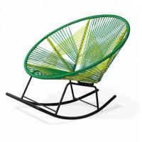 Wholesale Factory price OEM rattan egg colored rocking chair for outdoor from china suppliers
