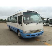 Wholesale Streamline Design Classic Coaster Minibus Peru Style LHD Mini 30 Seater Bus Mitsubishi from china suppliers