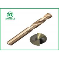 Wholesale HSS - M35 118° High Speed Drill Bits DIN 1897 Extended Length Amber Color from china suppliers