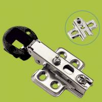 China glass door hinge plastic and cold rolled steel furniture hinge full overlay on sale