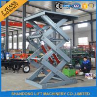 Wholesale 2 Ton 3m Hydraulic Elevator Lift , Warehouse Lift Platform For Cargo Lifting from china suppliers
