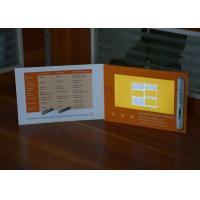 China Digital innovational paper card 7inch screen lcd video brochure video booklet for healthcare strategy on sale