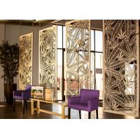 China Multi Functional Decorative Metal Panels Interior With Brushed / Sandblast Surface Treatments on sale