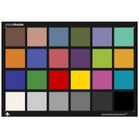 Buy cheap 3nh brand 24 Colors ColorCheck Test Chart to replace x-rite colorchecker 290 from wholesalers