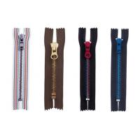 Wholesale Semi-auto lock 8# metal zipper ,eco-friendly,OEM available for garment from china suppliers
