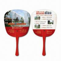 Wholesale Hand Fans, Customer's Logos Printings are Available, Made of PP, Suitable for Promotional Purposes from china suppliers