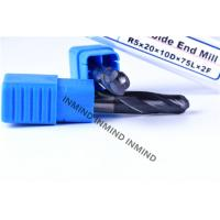 Buy cheap AlTiN Coating HRC50 Ball End Mill Machine Cutting Tools 2 Flute End Mill from Wholesalers