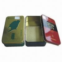 Wholesale Tin Boxes, Measures 139x85x41mm, Customized Colors are Accepted from china suppliers