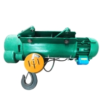 Wholesale M5 2T IP55 Remote Control Wire Rope Electric Hoist from china suppliers