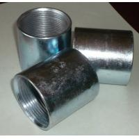 Buy cheap Thread sockets Seamless and seam black steel pipe sockets,couplings from Wholesalers