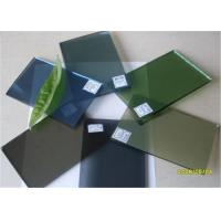 Wholesale 5 Mm Thickness Dark Green Tinted Glass / Floating Glass Panel For Construction from china suppliers