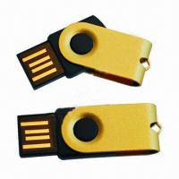 China USB Flash Drive with 1 Year Warranty, Supports USB Full-speed (12Mbps) Transmission on sale