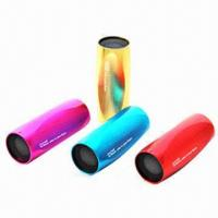 Buy cheap Hi-fi Speakers for iPod/iPad/ipPhone/MP3, Portable, Red/Blue/Yellow/Orange from wholesalers