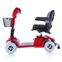 2015 new hot d101 l luxuary folding 4 wheels electric for Motorized scooters for the elderly