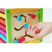 Wholesale Chicken Colorful beads wooden Rack-education toy from china suppliers