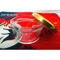 Wholesale High Transparent Glass Caviar Jar With Metal Lid from china suppliers