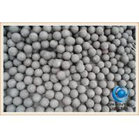Wholesale Mineral Processing High Hardness Iron Grinding Balls for ball mill , steel mill media from china suppliers