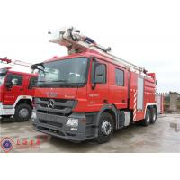Wholesale High Spraying Water Fire Truck Benz Chassis With Fully Synchronized Gearbox from china suppliers