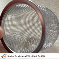 Wholesale Stainless Steel Rimmed Bowl/Dome Shape Filter|Made by Aluminum and Stainless Steel from china suppliers