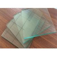 Wholesale Professional Clear Sheet Glass 1 mm ~ 2.7mm Thickness For Picture Frame from china suppliers