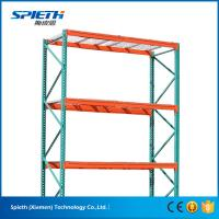 Wholesale US heavy duty Warehouse storage teardrop pallet racking system from china suppliers
