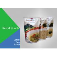 Wholesale High Temperature Retort Pouch Packaging Laminated Plastic Bags For Food from china suppliers