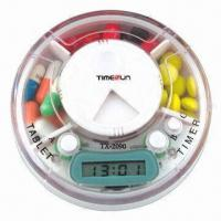 Wholesale Pillbox Timer, 3 Compartments with Time and Alarm from china suppliers