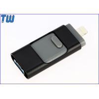 China Double Side Sliding 8GB Thumb Drives USD OTG Drive Storage Device on sale