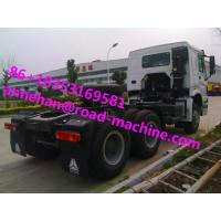 Wholesale 6X4 EUROII SINOTRUK HOWO Tow Tractor Truck RHD 10 Wheels 371 HP ZZ4257S3241W from china suppliers
