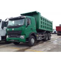 Wholesale 30 - 40 Ton Dump Truck A7-W Luxury Cabin ZF8118 Left Driving Driving Steering from china suppliers