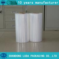 Wholesale TOP QUALITY!! Hand Machine Grade hdpe pe stretch film SGS certfied cling wrap film from china suppliers