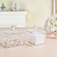 Wholesale New Style Vanity Container Aluminum Acrylic Makeup Storage Box from china suppliers