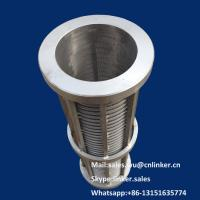 Wedge Wire Screen Cylinders,20 micro Filter Element