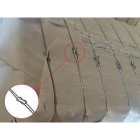 Buy cheap Cotton Bale Packaging Wire Ties ,Wire Ties, Baling Wire, Bale Ties, Polyester from wholesalers