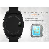 Buy cheap USB Port Touch Smart Mobile Watch , Android Mobile Watch 0.91 Inch OLED Display from wholesalers