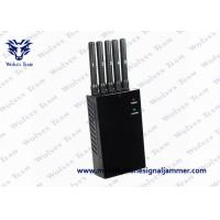 China Customized Frequency Portable GPS Jammer , Wifi Device Blocker 5 - 15m Jamming Range on sale
